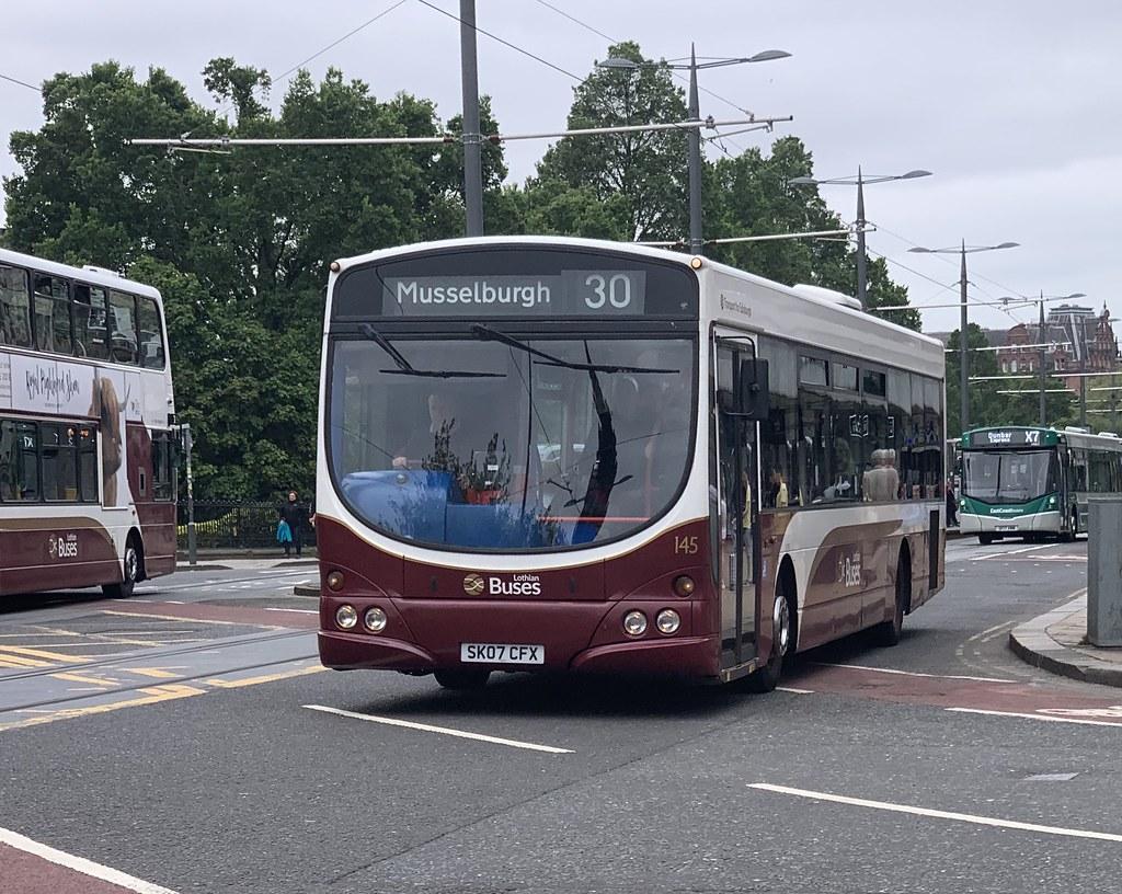 Lothian Buses 145 SK07 CFX (26/06/2019)