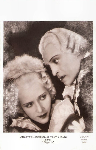 Arlette Marchal and Tony D'Algy in Figaro (1929)