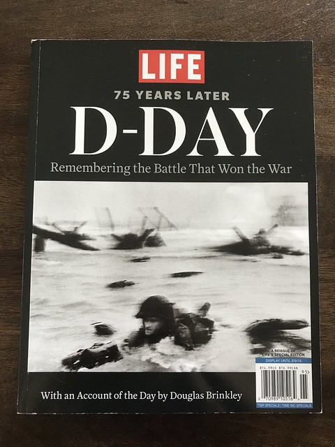 Reading up on D-Day @ its 76thAnniversary.This is from my little son's magazine collection,given by his Dad last year.Also saw its documentary with our kids during our visit to the grandparents when they took us to its screening @ FDR's home in Hyde Park.