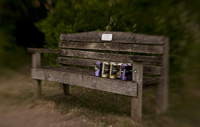 Alcohol and Pills - Lockdown bench....