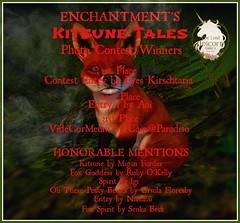 Kitsune Tales Photo Contest Winners!