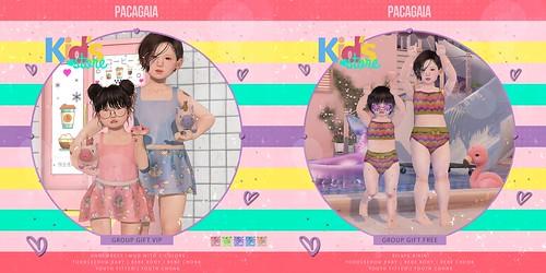 Pacagaia Kids - Group Gift VIP&FREE