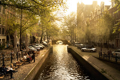 Amsterdam Cafe Morning