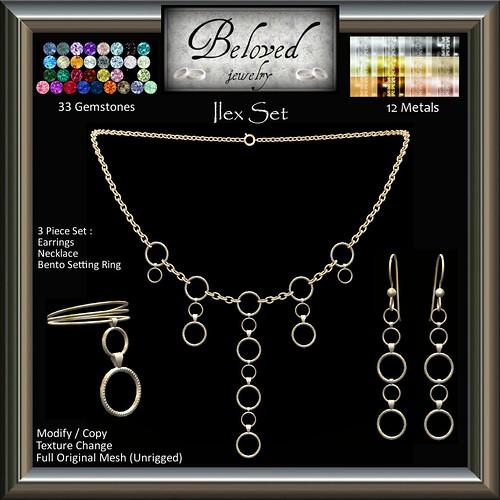 Beloved Jewelry : Ilex Set