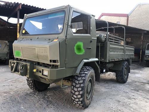 camió Uro militar