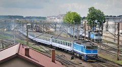 HAŃCZA express leaving Białystok for Suwałki