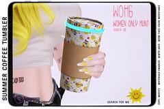 {ID} Summer Coffee Tumbler @ WOMEN ONLY HUNT 6