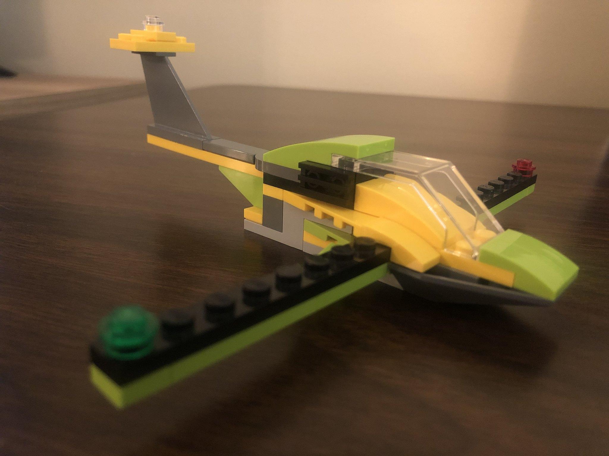 Plane front