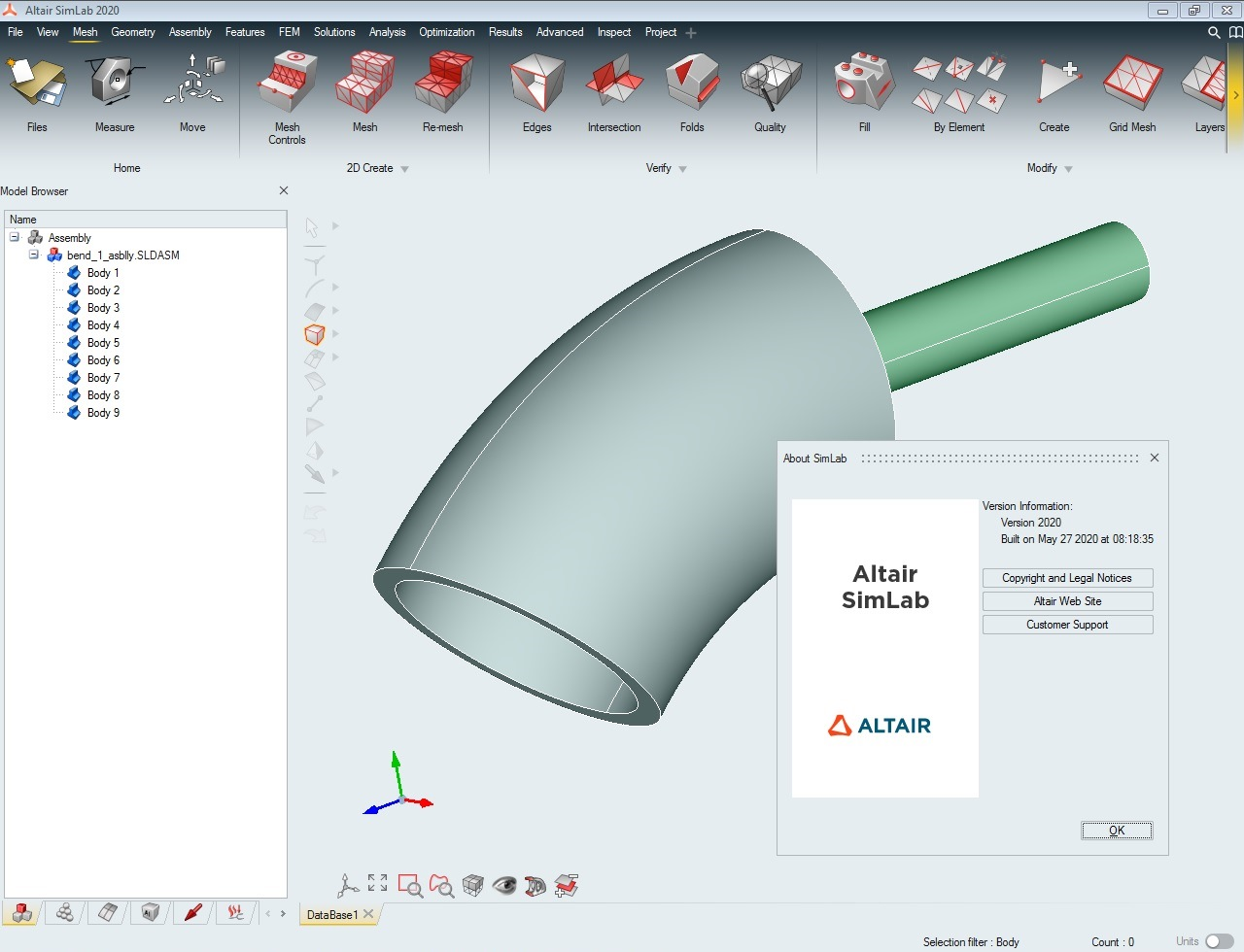 Working with Altair SimLab 2020.0 x64 full license