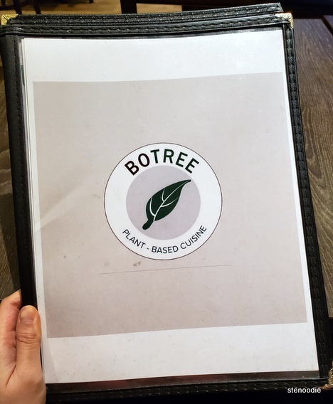 Bo Tree Plant-Based Cuisine menu cover