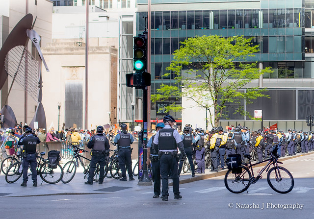 Protests George Floyd in Chicago May 2020