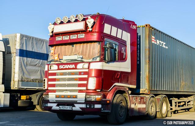 Scania 164L Topline 480 V8 ex. Kent Ottesen (RUS)