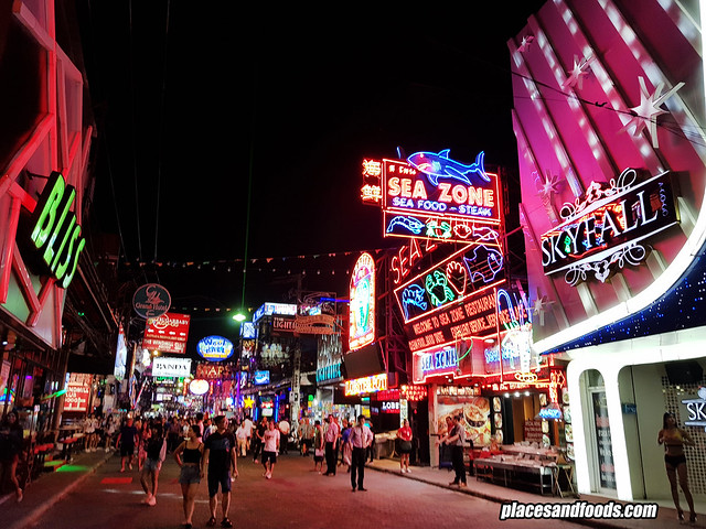 pattaya walking street covid