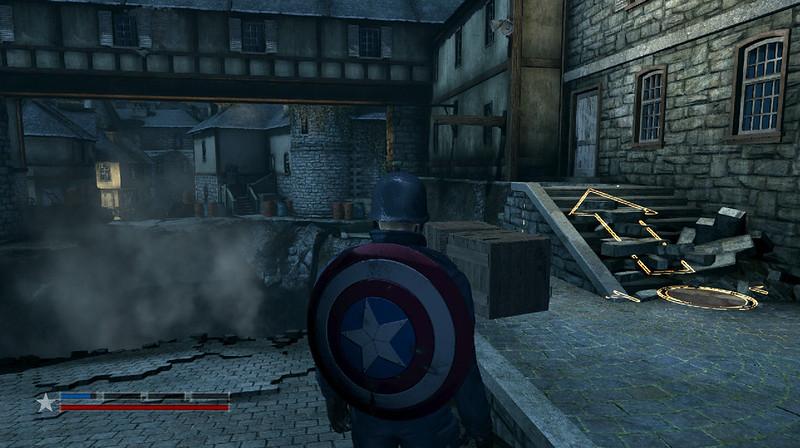 Captain America: Super Soldier - Platforming Challenge