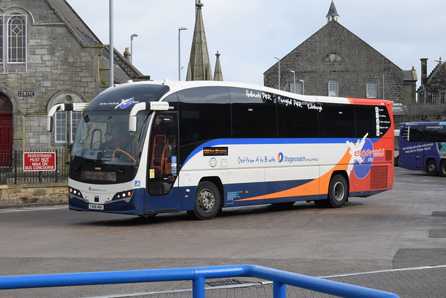 SES 53814 @ Dunfermline bus station