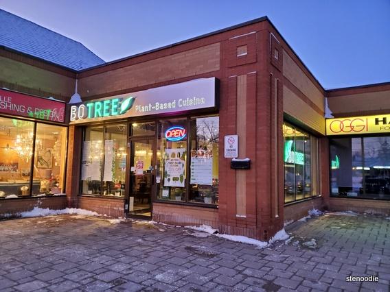 Bo Tree Plant-Based Cuisine storefront