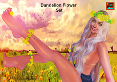 EZZY Dandelion Flower Set
