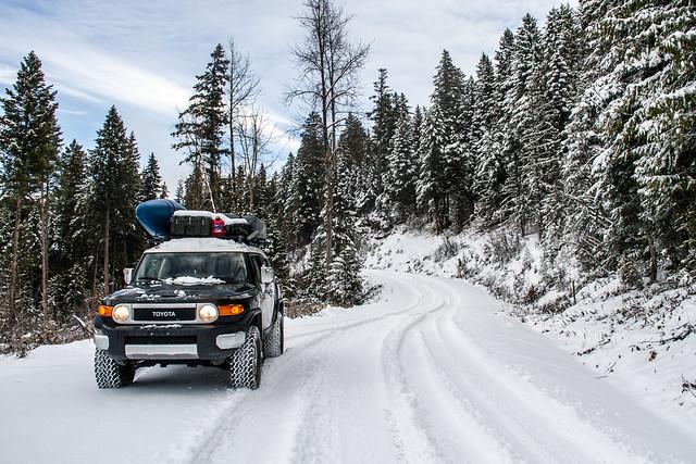 Road Trip Toyota  FJ Cruiser
