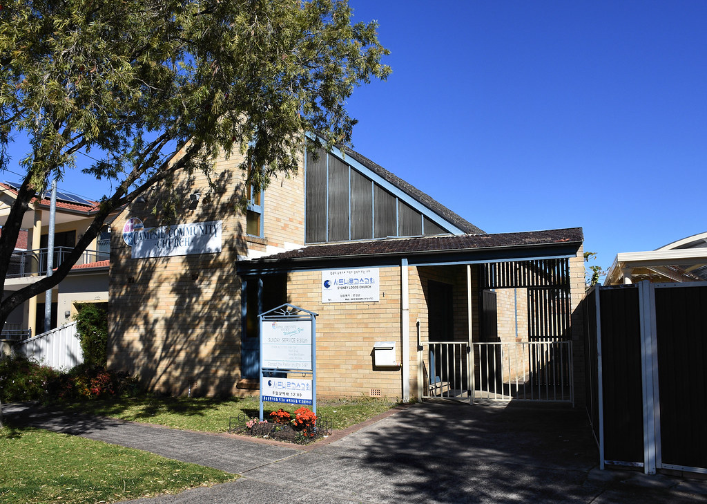 Campsie Community Church, Campsie, Sydney, NSW.