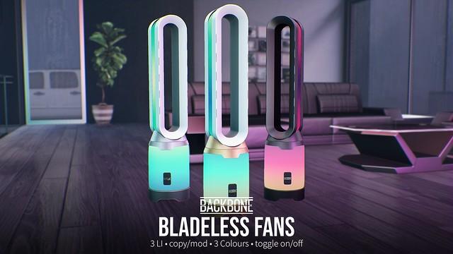 BackBone Bladeless Fans