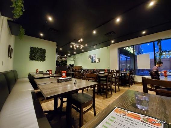 Bo Tree Plant-Based Cuisine interior