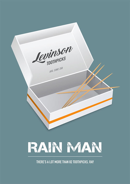 Rain Man - Alternative Movie Poster