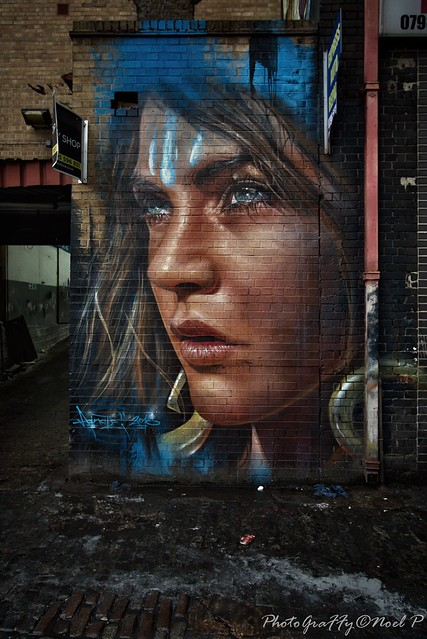 London wall by Adnate
