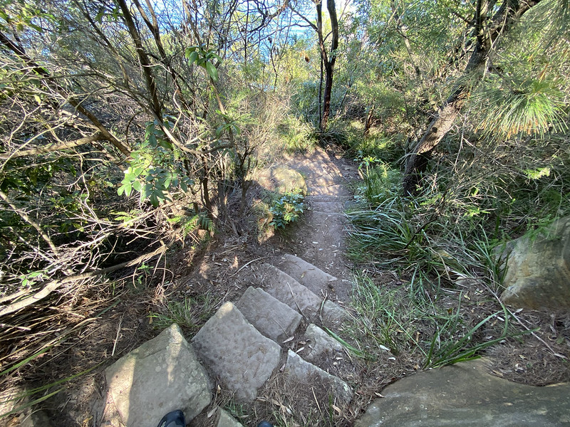 Manns Point stairs