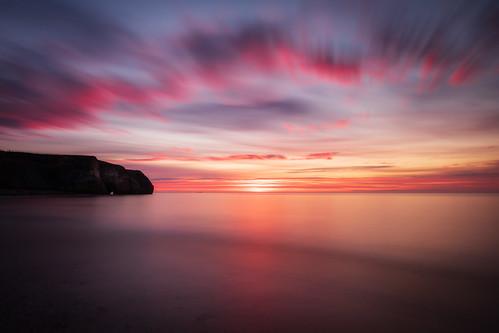 blastbeach seaham durhamcoast northeast england countydurham longexposure 10stopfilter nd3 ndhardgrad06 canon760d sigma1020mmf456exdchsm colourful sunrise predawn