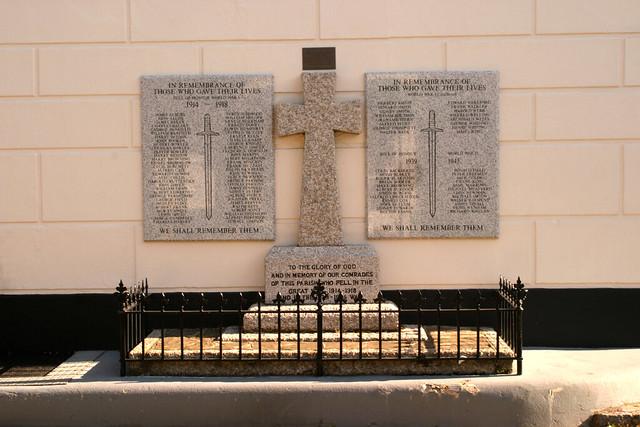 War Memorial Henfield West Sussex UK