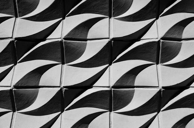wave shaped concrete (Flickr Explore)