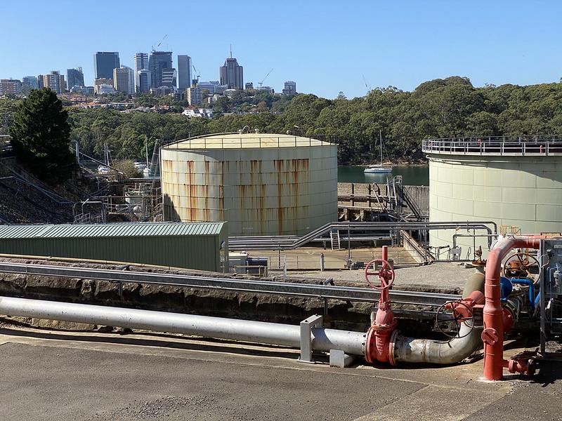 Gore Cove oil depot
