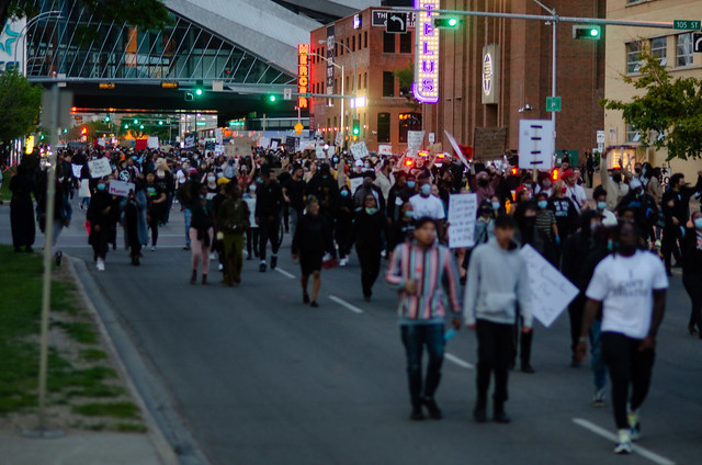 Edmonton Black Lives Matter protest - June 5th, 2020