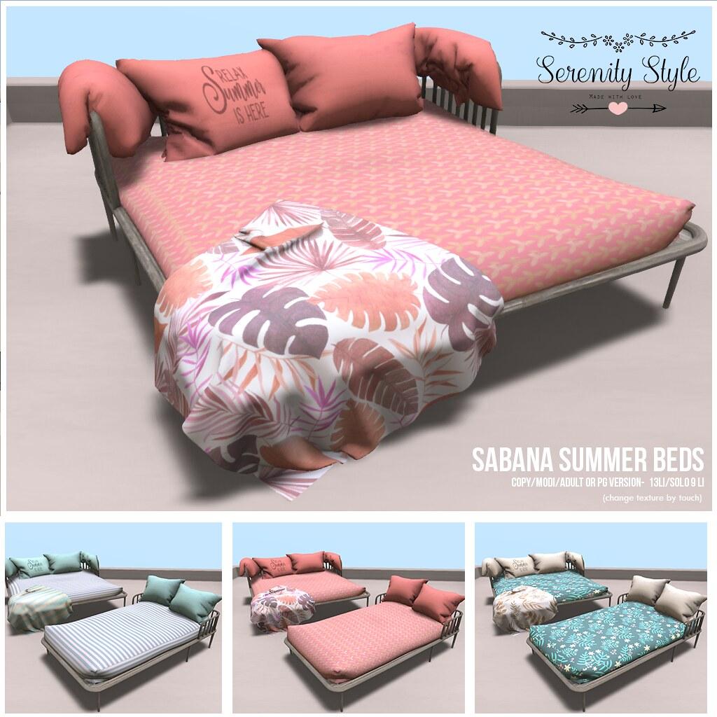 Serenity Style-Sabana Summer Beds