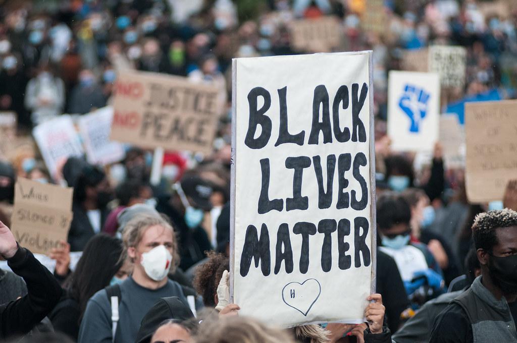 Black Lives Matter protest - Sheffield
