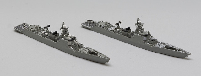 GHQ Type 52D Destroyer 1/2400 miniature