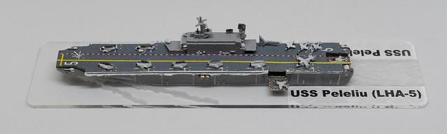 PFC-CinC USS Peleliu LHA 1/2400 miniature - based