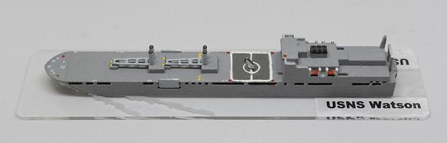 USNS Watson RO-RO 1/2400 miniature - based