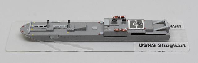 USNS Shughart RO-RO 1/2400 miniature - based