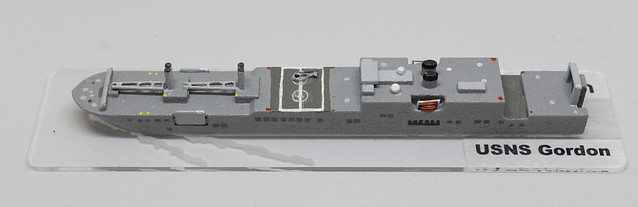 USNS Gordon RO-RO 1/2400 miniature - based