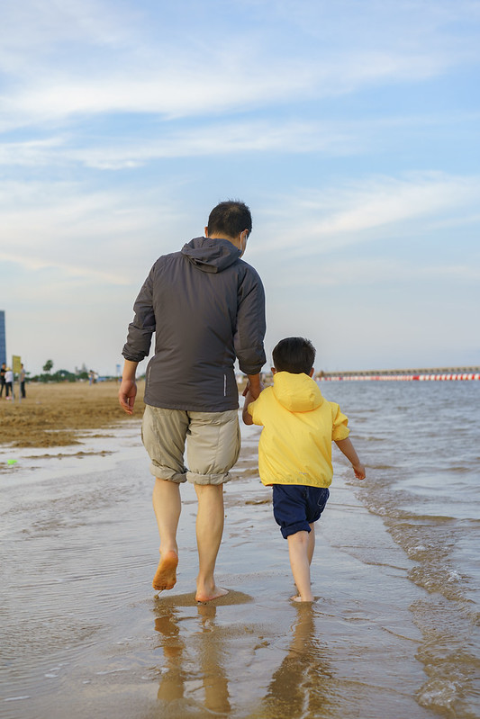 Dudu@Jinshan City Beach
