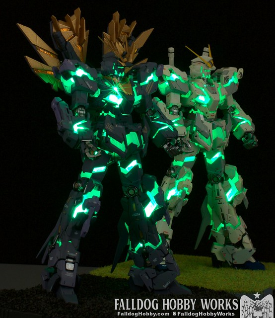 RG Unicorn Gundam 02 Banshee Norn (Lighting Model) 3