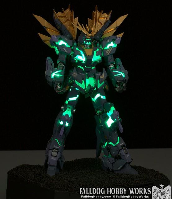 RG Unicorn Gundam 02 Banshee Norn (Lighting Model) 20