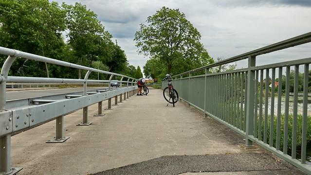 20200604 Brandenburg Hohennauener Wasserstrasse Brücke 'Rathenow Gülper See, Rhinow'(11)