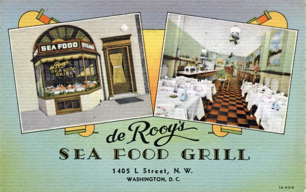 de Rooy's Sea Food Grill (1931)