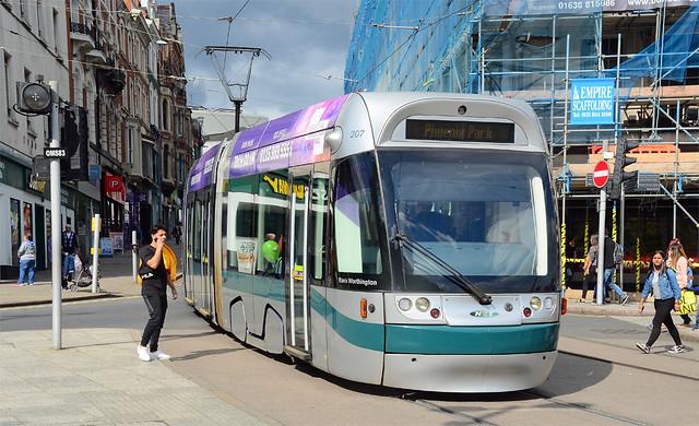 Nottingham Tram.