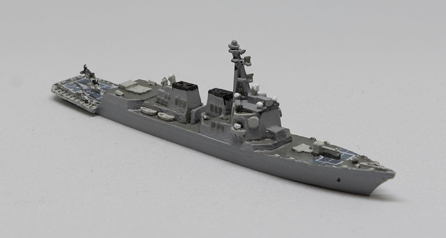 GHQ Arleigh Burke Destroyer 1/2400 miniature