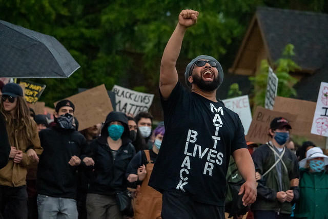 BLM March, Springfield, Oregon