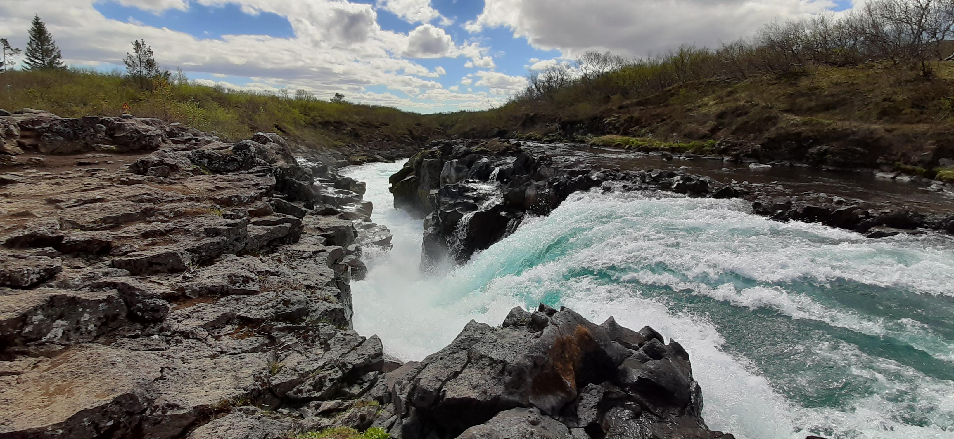 Bruarfoss, Hlauptungufoss & Midfoss, Iceland