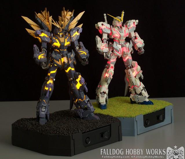 RG Unicorn Gundam 02 Banshee Norn (Lighting Model) 1